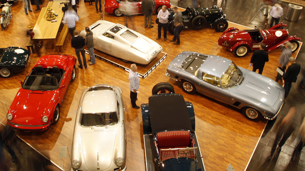 Showroom Oldtimer in Essen