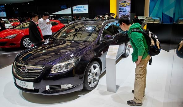 Ein Opel Insignia ST auf der Shanghai Auto Show: China wäre ein wichtiger Markt