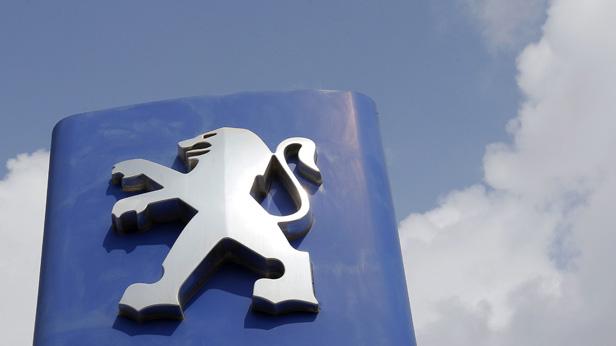 peugeot logo wolken