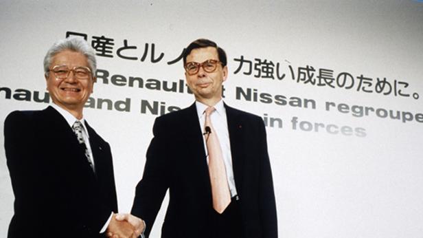 Vertragsunterzeichnung Renault-Nissan-Allianz