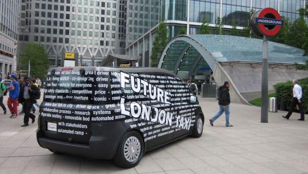 No More Black Cabs: Sieht so Londons Taxizukunft aus?