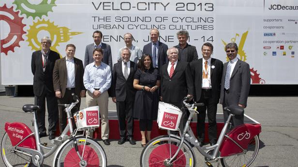 Hochrangige PolitikerInnen diskutieren urbane Mobilität in Wien
