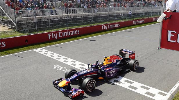 Vettel gewinnt in Montreal