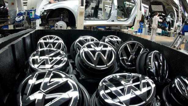So viele VW: Vor kurzem rollte der 30-millionste Golf vom Band