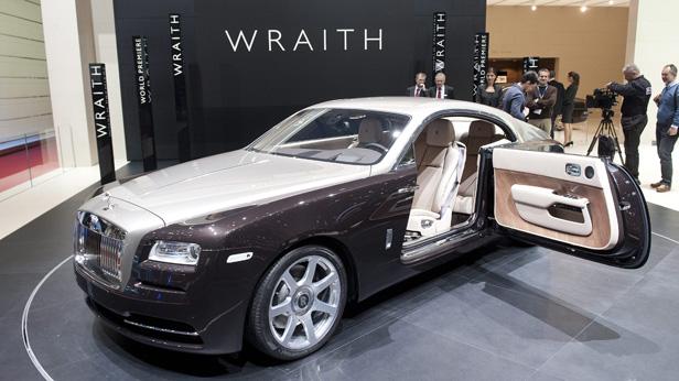 Das Rolls-Royce Coupe Wraith beim Genfer Autosalon