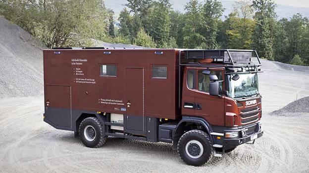 ExpExpeditionsmobil Radon Scania G 440 CB 4x4 Hünerkopf Hartmann