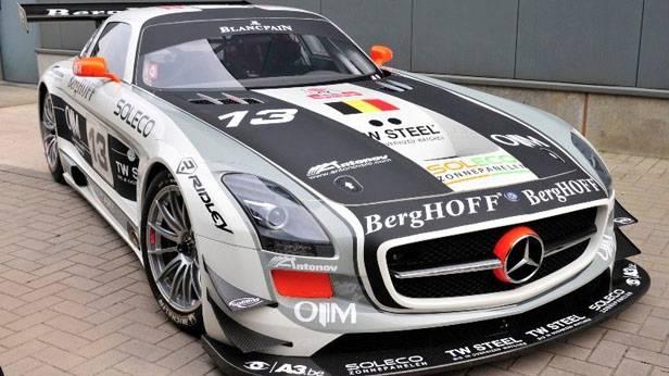 Der Mercedes SLS AMG GT 3