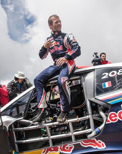 Sebastien Loeb bei der Pikes Peak 2013