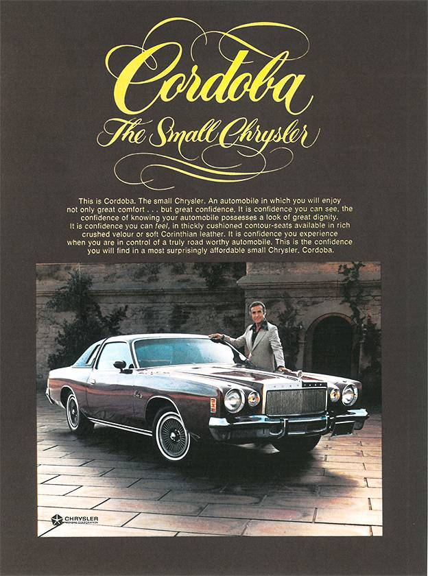 1975 – Chrysler Cordoba
