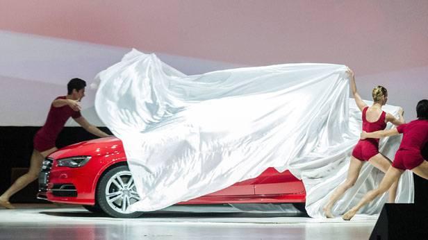 Audi S3 wird in Ungarn enthüllt und präsentiert.