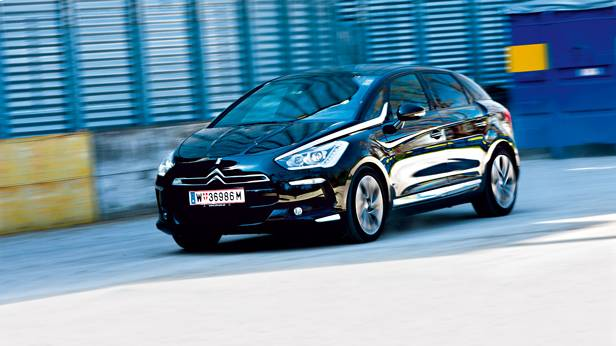 citroën ds5 hdi 165 sport chic front