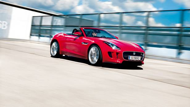 Jaguar F-Type 3,0 V6 S Supercharged