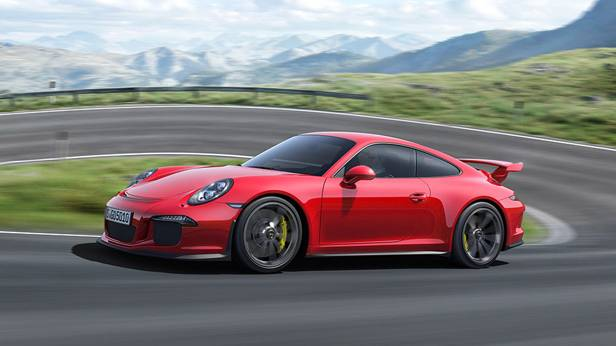 Der neue 911 GT3 . Ab August um €172.370.