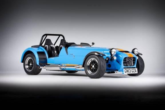 Caterham präsentiert am Goodwood Festival Of Speed 2013 ein neues Modell aus der Seven-Reihe: Der 620 R kommt mit 310 PS daher