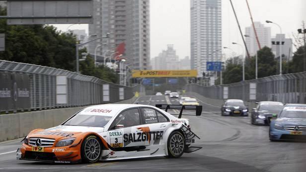 AMG/Mercedes C-Klasse, in Shanghai-DTM