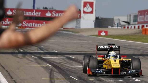 Marcus Ericsson fährt am Nürburgring