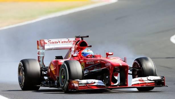 Alonso wurde beim Grand Prix von Ungarn Fünfter, klagte über die Leistung seines Teams - und stieß damit auf geringes Verständnis.