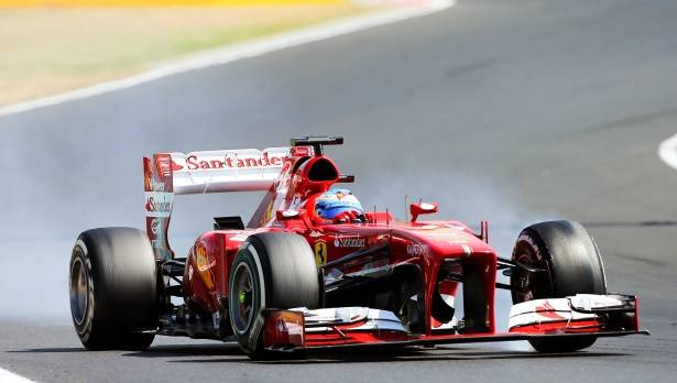 Ferrari rügt Alonso