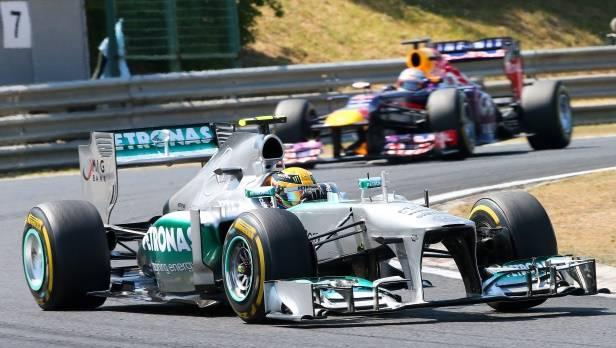 GP von Ungarn 2013: Hamilton gewinnt vor Räikkönen