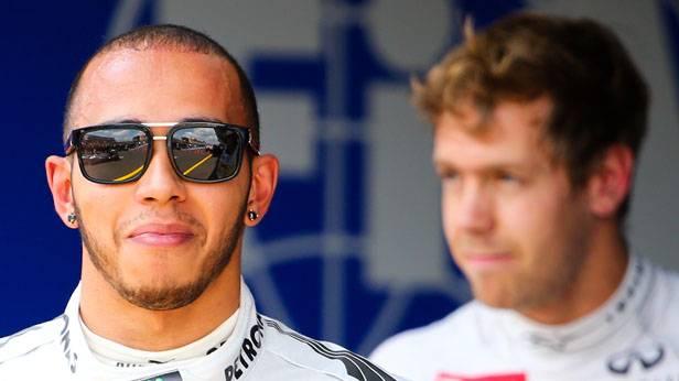 Hamilton vor Vettel