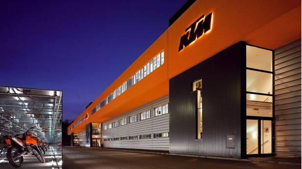 Das KTM Werk in Mattighofen