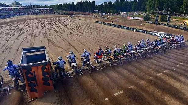 Motocross-WM in Kegums