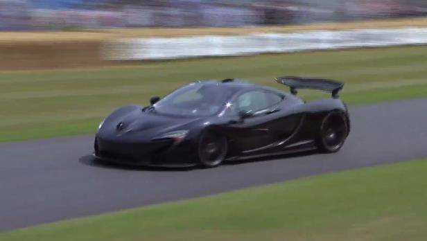McLaren P1 debütiert beim Goodwood Festival Of Speed