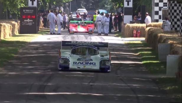 Porsche 956 beim Goodwood Festival Of Speed