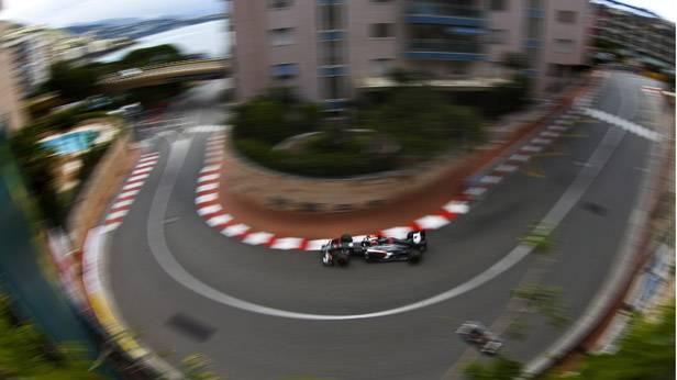 Nico Hulkenberg, Sauber, in Monaco