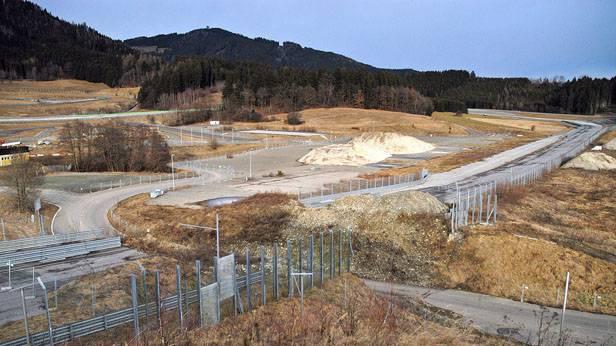 Blick auf den Oesterreichring am Donnerstag, 31. Jaenner 2008, in Spielberg in der Steiermark