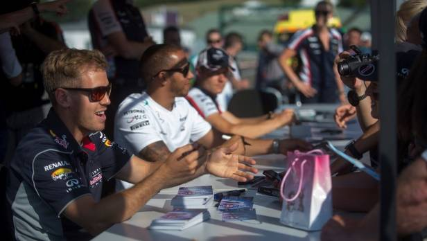 GP von Ungarn: Vettel dominiert im ersten freien Training