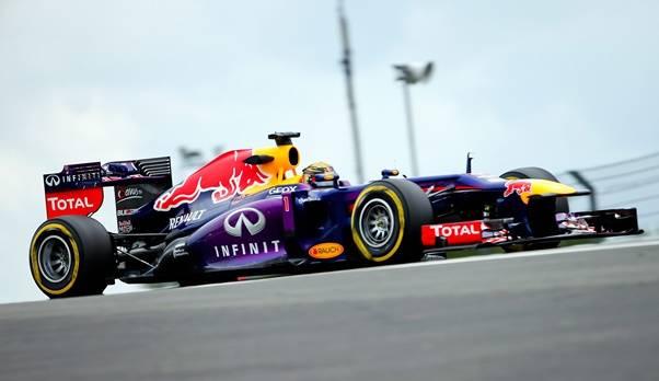Formel 1: Keine weiteren Reifenprobleme, Vettel schnellster im Training