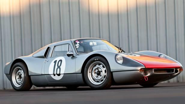 Sicht auf den Porsche 904/6