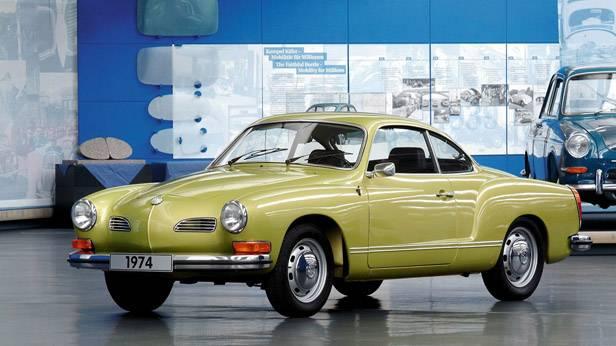 VW Karmann Ghia in der Automobilsammlung