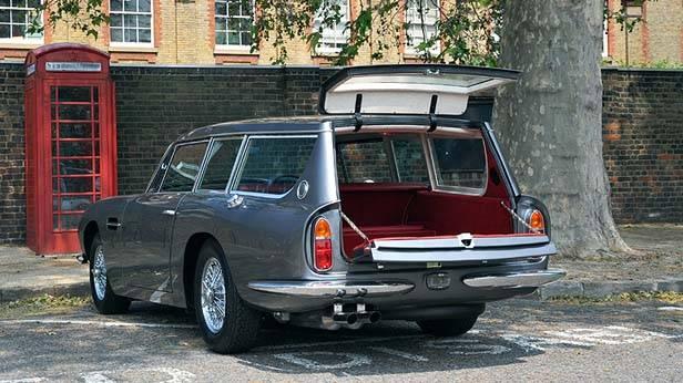 Aston Martin DB6 kofferraum