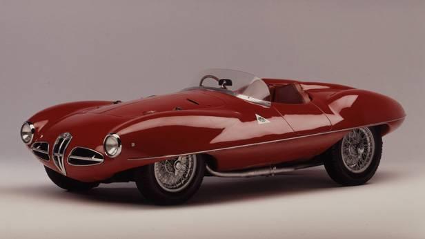 Der Alfa Romeo C52 seitlich