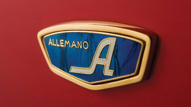 ATS 2500 GT 3.0 Alemano Schriftzug