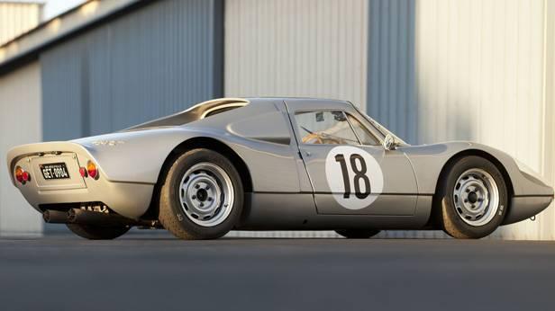 Seitenansicht des Lister-Jaguar BHL 16