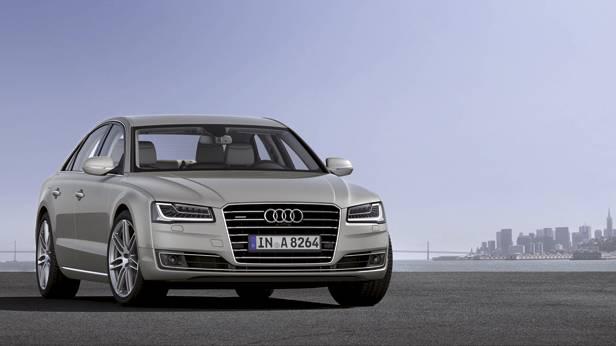 Audi A8 2013 statisch vorne