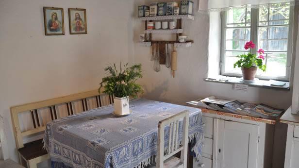 Eine Küche im Museumsdorf Niedersulz