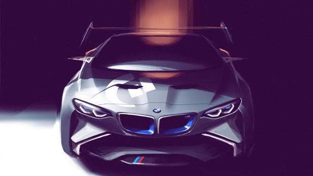 BMW Vision Gran Turismo von vorne