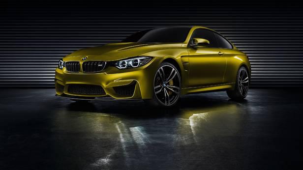 BMW M4 Coupé statisch vorne links