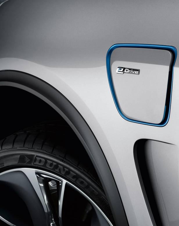 BMW X5 eDrive Concept statisch Detail