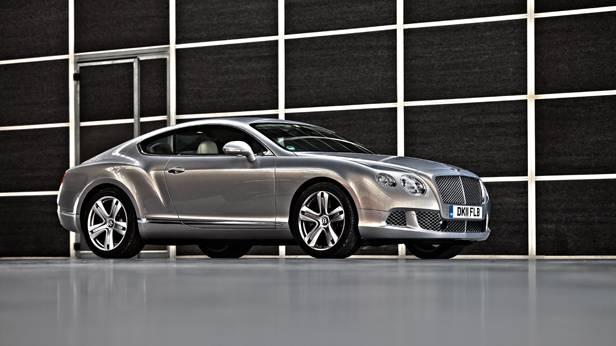 Bentley Continental GT statisch rechts