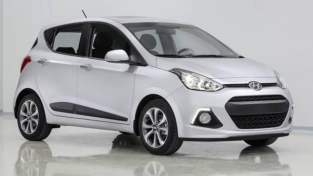 Hyundai i10 neu IAA Frankfurt 2013