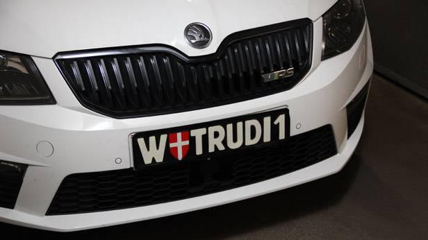 Wiener Kennzeichen Trudi1