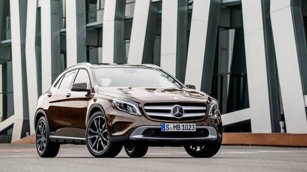 Mercedes-Benz GLA statisch vorne rechts