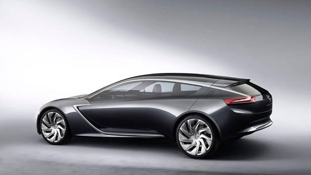 Opel Monza Concept statisch hinten links