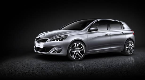 Peugeot 308 Preise statisch vorne links