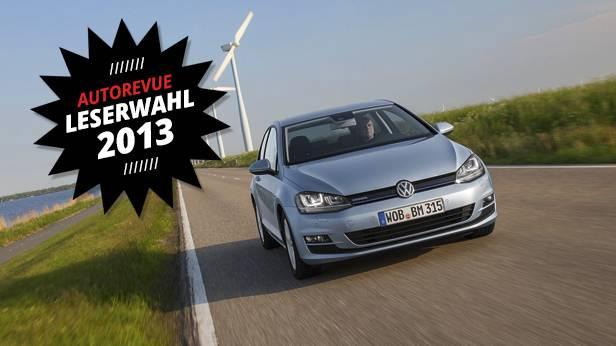 VW Golf Bluemotion dynamisch vorne